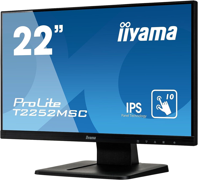 Iiyama Prolite T2252msc B1 54 6 Cm Ips Led Monitor Computer Zubehör