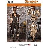 Simplicity pour les costumes Steampunk Patron de Couture, papier