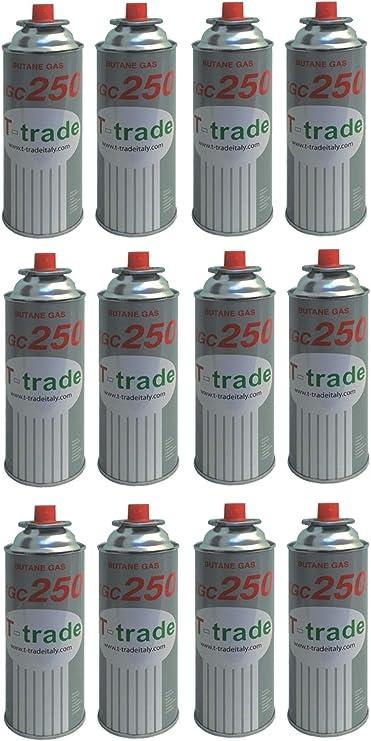 ALTIGASI 12 unidades – Cartucho de gas GLP 250 g Art. KCG250 ...