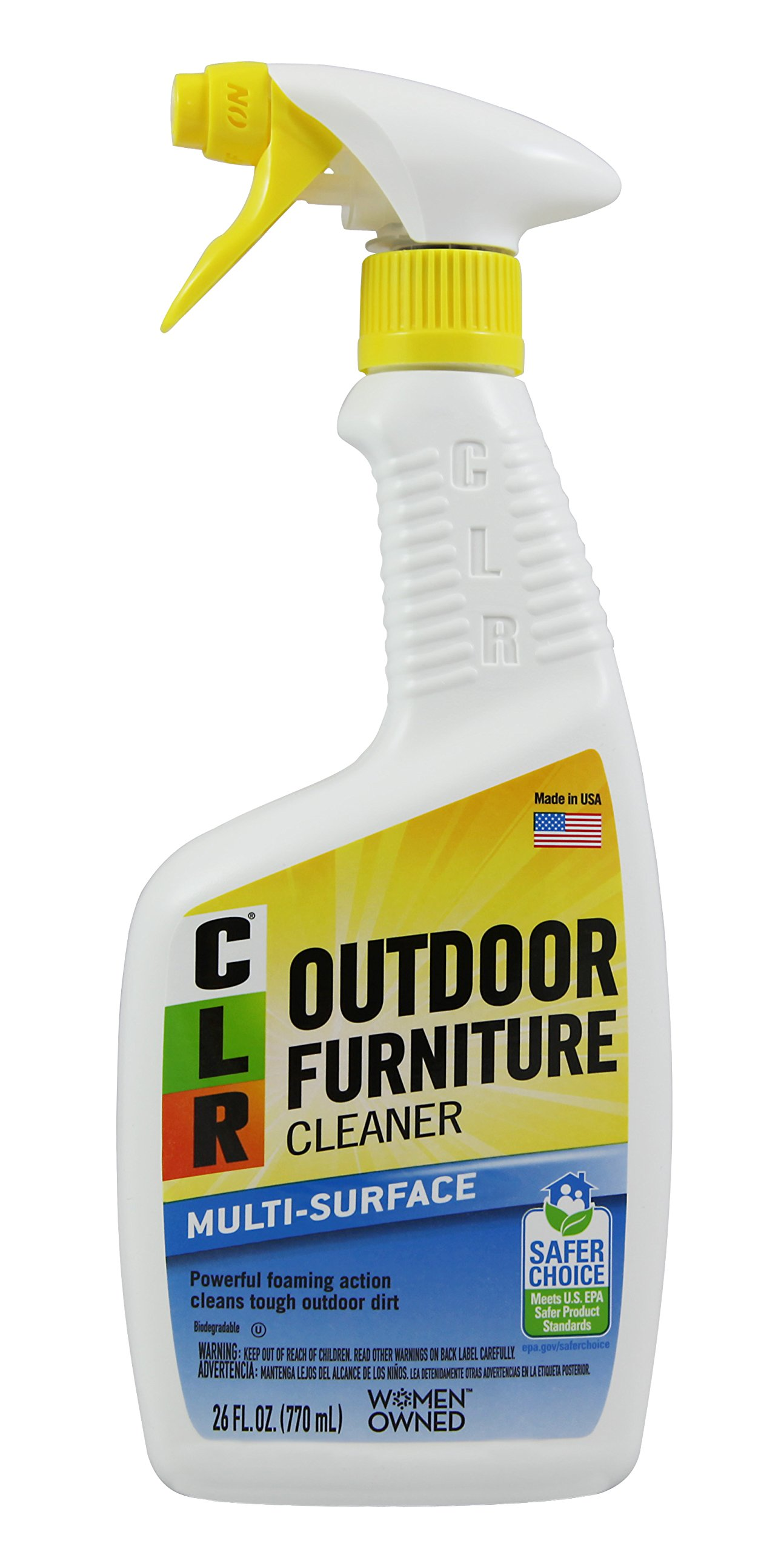 CLR PB-OF-26 Outdoor Furniture Cleaner, 26-Ounce by CLR (Image #1)