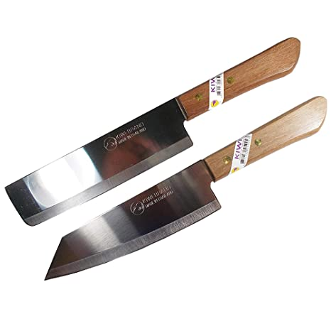 Amazon.com: KIWI 171,172 Set de 2 cuchillos de chef para ...