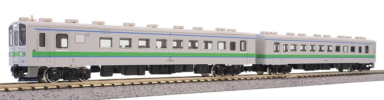グリーンマックス Nゲージ JR北海道キハ141形/キハ142形 新塗装 増結2両編成セット 動力無し 30222 鉄道模型 ディーゼルカー B075ZSZKMM
