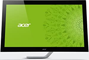 Acer 27IN WS LCD Touch 2560X1440 T272HUL BMIDPCZ HDMI DVI Black 10PT / UM.HT2AA.002 /