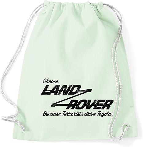 Landrover - Mochila de algodón con cordón para Toyota Pastel Mint ...