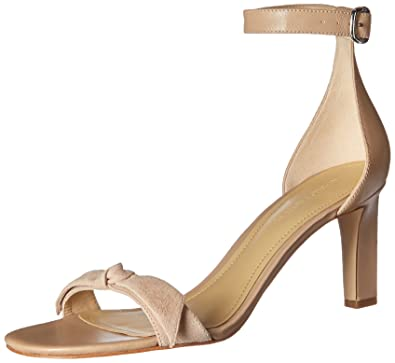 8463bdfd5bcf Marc Fisher Women s Dalli Heeled Sandal New Sand 5 Medium US