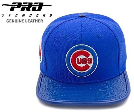 985fd9a1bfdf9 Amazon.com   PRO-STANDARD Chicago Cubs Official Team Premium Leather ...