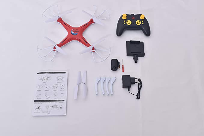 TALREJA ENTERPRISES Max Eagle WiFi Camera Drone with Flexible Material, 6 Channel and 6 Axis Gyro, with Charger and Remote Control