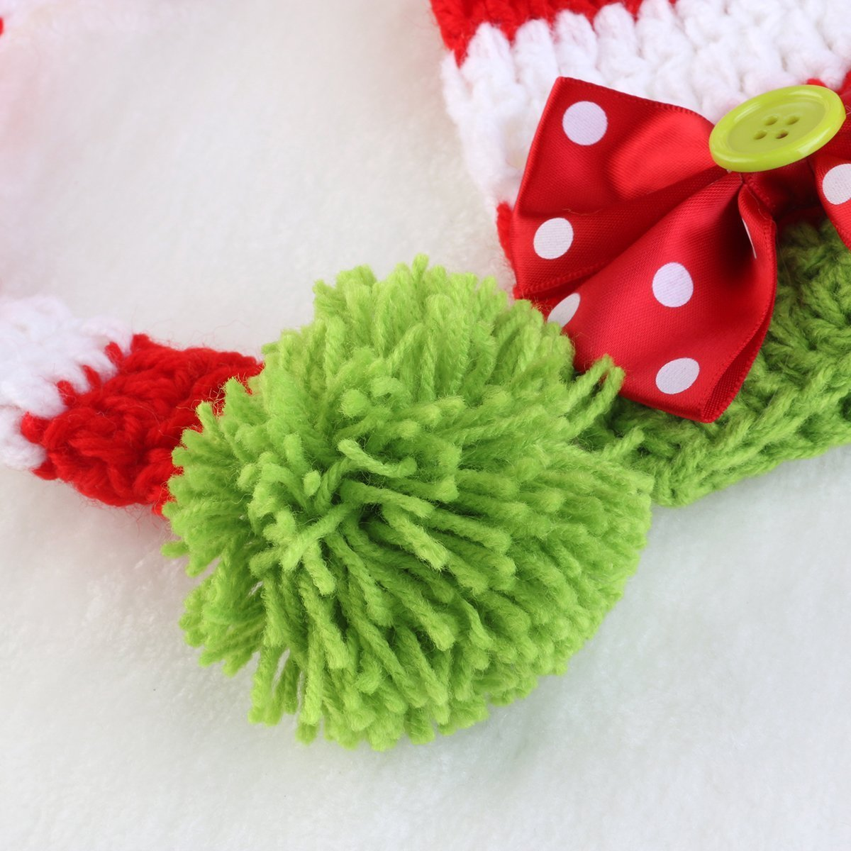Rhumen Baby Photography Prop Christmas Baby Newborn Handmade Clothes by Rhumen (Image #3)