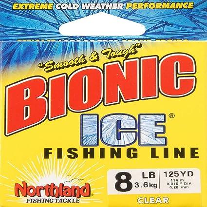 Leader Line Northland Tackle Bionic Ice Line Clear BI125-3-CL