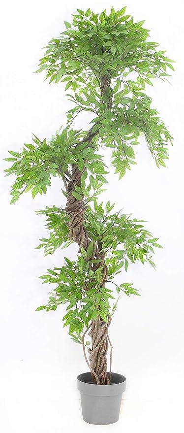 Vert Lifestyle Fruticosa Japonesa Artificial Arbol, Elegante Lujosa réplica/Planta Artificial de Interior/