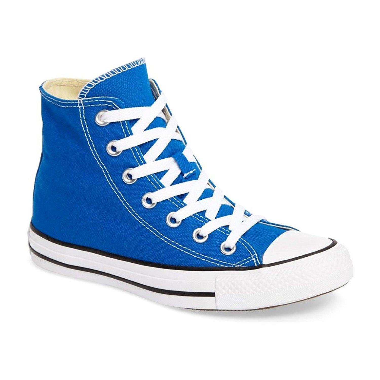 Converse Unisex Shoes Chuck Taylor All Star Hi Soar Blue Fashion Sneakers (8 Men's / 10 Women's)