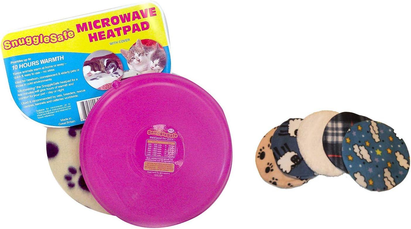 Snuggle Safe - Almohadilla térmica para microondas para Mascotas ...