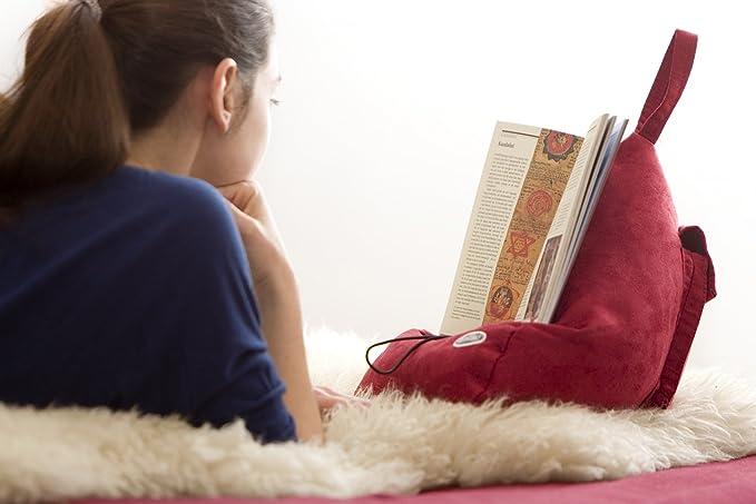 The Book Seat Atril de lectura, color azul,