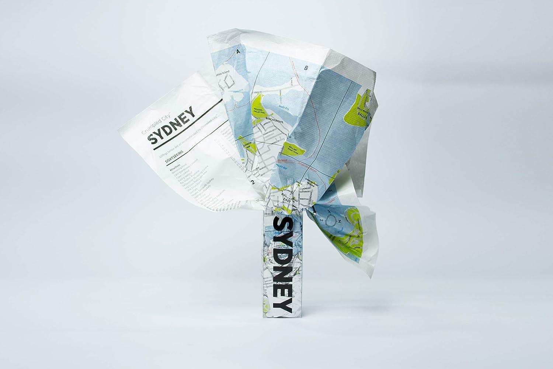 Crumpled city map. Sydney. Ediz. multilingue Crumpled City Maps Palomar (Firenze) 9788890573248 Australia