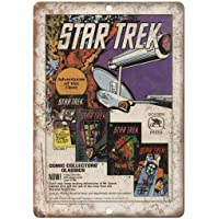 Star Trek Golden Press Comic Book Placa Cartel