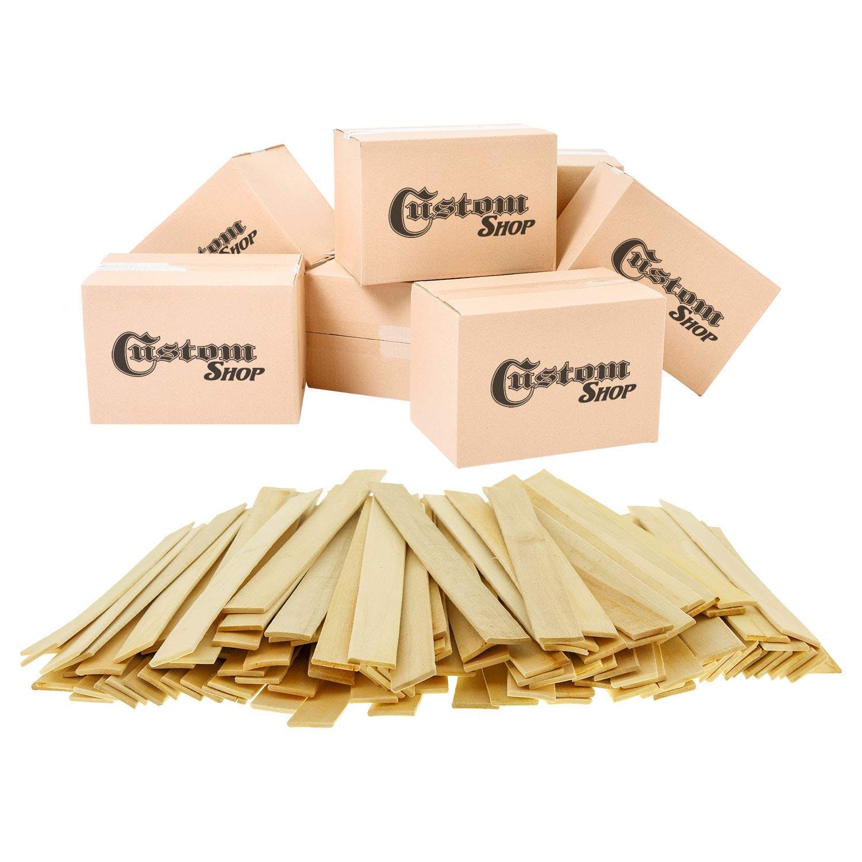 Custom Shop Craft and Paint Sticks - 12'' Inch Premium Grade Wood Stirrers/Paddles - Wood Crafts - Paddle Mix Epoxy resin Paint - GardenPaint Mixing Sticks/Paddles(Full Case of 1000 Sticks) by Custom Shop