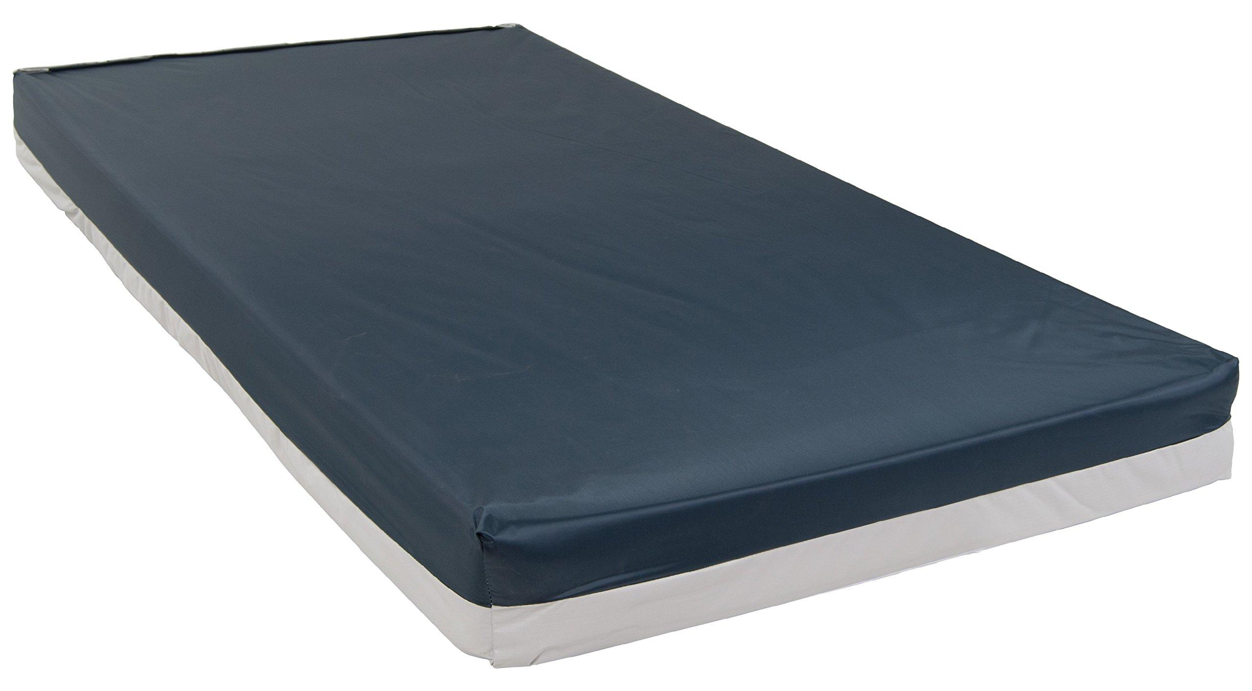 Drive Medical Bariatric Foam Mattress, Blue, 48 Inch