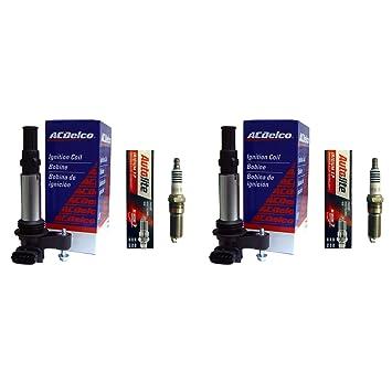 Dos ACDelco México bs-c1508 bobinas de encendido + Dos Autolite xp5263 Bujías: Amazon.es: Coche y moto