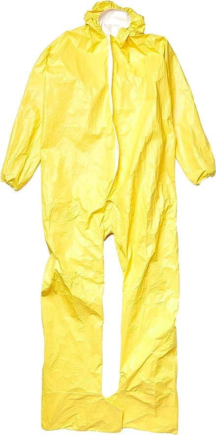DUPONT Tychem F Hazmat Suit Avec Capuche et couvre-bottes Tf169TGY extra large XL