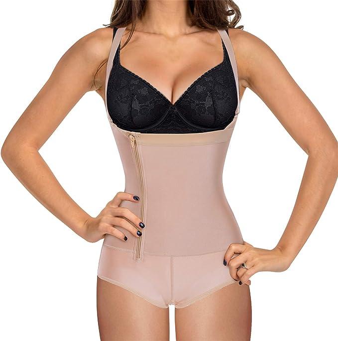 Amazon.com: Eleady - Body de látex para mujer con cintura ...