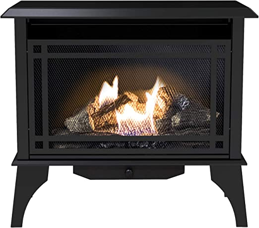 Pleasant Hearth VFS2-PH30DT Ventless Dual Fuel Stove