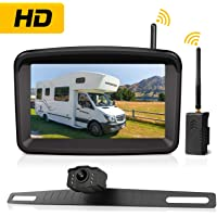 Xroose Wireless Backup Camera With Night Vision Monitor