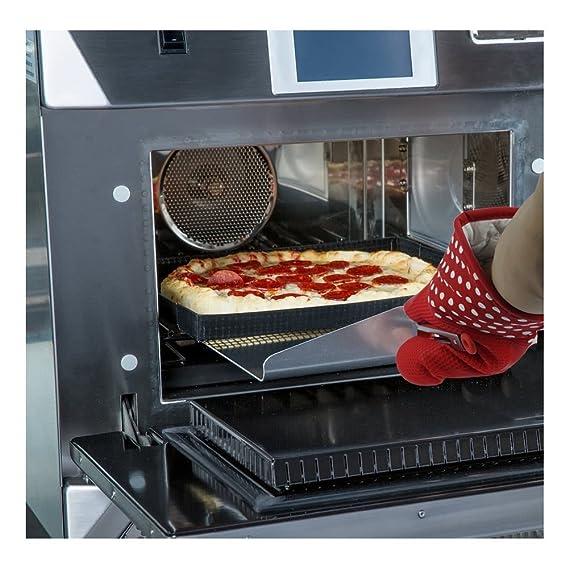 Horno guantes tres mosquetero 300 y # x2103; Resistente al calor alargado Industrial con aislamiento guantes con aislamiento de silicona guantes de horno ...