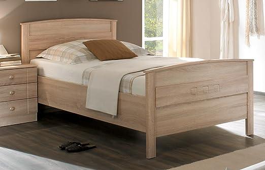 Komfortbett Bett Seniorenbett Einzelbett Curanum Hoehenverstellbar Eiche Sonoma Amazon De Kuche Haushalt