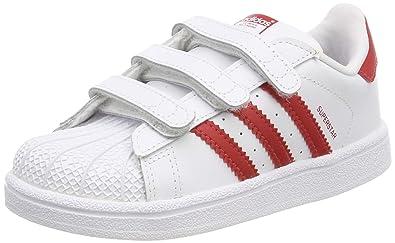 01552bf5af3dc adidas Unisex Babies  Superstar Cf I Gymnastics Shoes  Amazon.co.uk ...