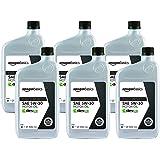 AmazonBasics 6-pack of Full Synthetic Motor Oil