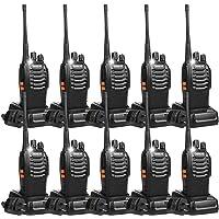 $119 » Retevis H-777 2 Way Radios Walkie Talkies USB Rechargeable Flashlight Long Range UHF Radio…
