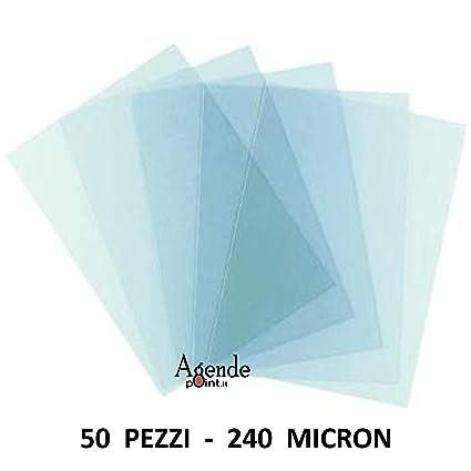 Portadas acetato transparente para encuadernación 50 hojas 250 ...