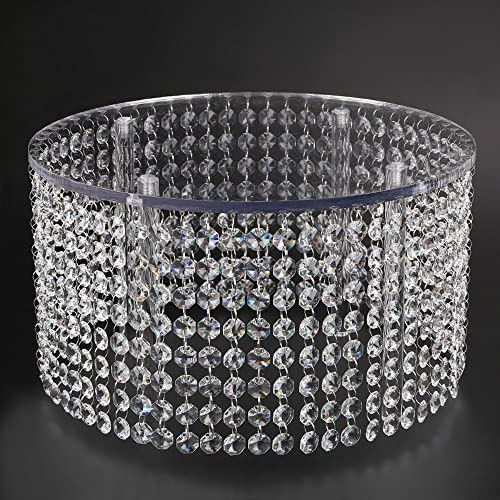 Crystal Wedding Cake Stand Chandelier Style, Bling Crystal Chandelier Cake  Stand Round  Chandelier