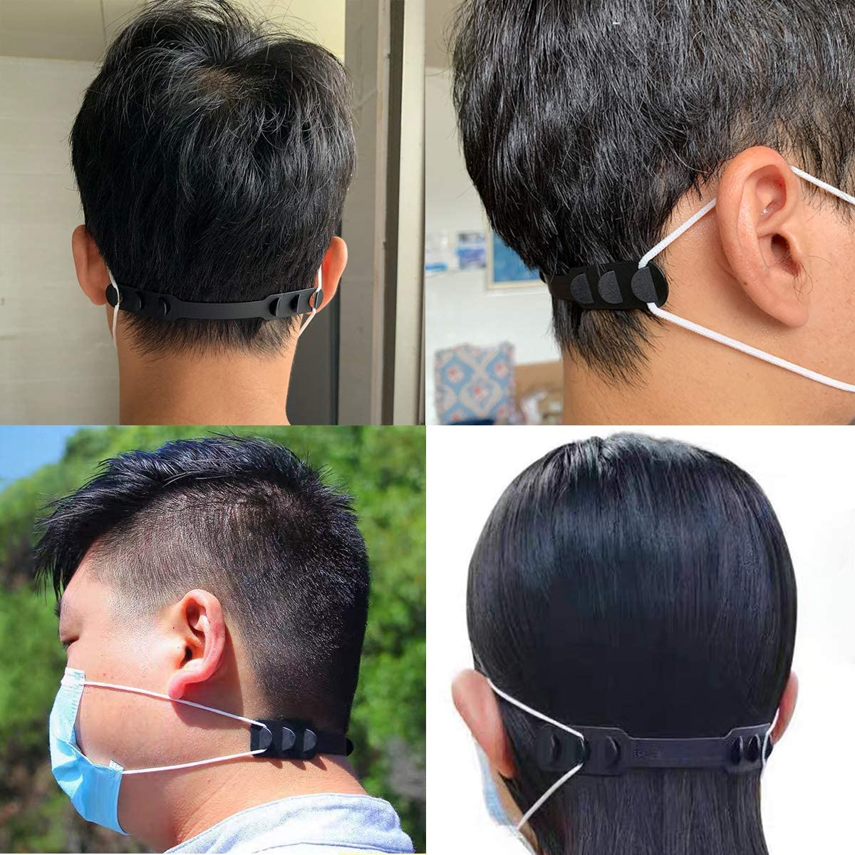 Medou Anti-Tightening Ear Protector Decompression Holder Hook Ear Strap Accessories Strap Extenders