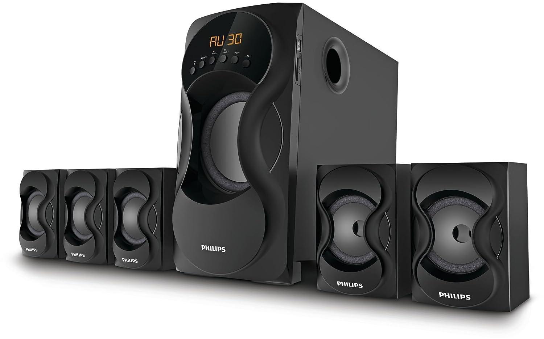 Philips SPA5162B 5.1 Channel Multimedia Speakers
