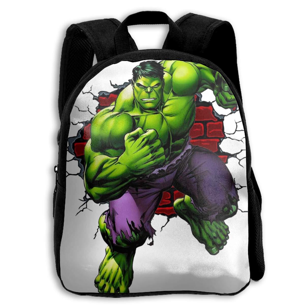 CHLING Mochila para niños con Estampado de Hulk, Bolsa ...