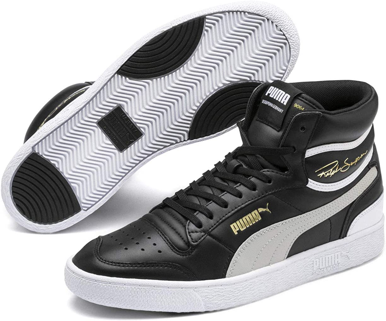 PUMA - Chaussure intermédiaire Ralph Sampson pour Homme Puma Black Gray Violet Puma White
