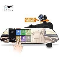 Momentum-US 1080P 5.0 Inch Panoramic Rear View Mirror Dash Cam (Black)