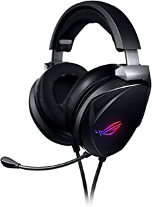 ASUS Gaming Headset ROG Theta 7.1   Ai Noise Cancelling Headphones with Mic   ROG Home-Theatre-Grade 7.1 DAC, and Aura Syn RGB Lighting