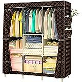 Fabric Closet Storage, Clothes Storage Organizer, Black