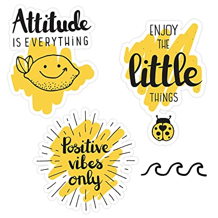 photo relating to Vsco Stickers Printable named Vsco Stickers for Hydro flasks[10computers] Lovable, Beneficial, Stunning, Attractive, Aesthetic, Mustard Yellow Sticker for Teenager, Women, Feminists - Drinking water Bottles