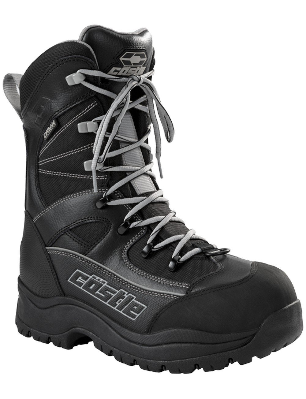 Castle X Force 2 Mens Snowmobile Boots Gray 11 USA Castle X Racewear