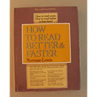 How to Read Better and Faster (Fourth Edition)