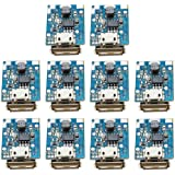 Onyehn 10Pcs 5V Boost Step Up Power Supply Module Lithium Battery Charge Protection Board HOTCHIP HT4928S(parameters Same as1