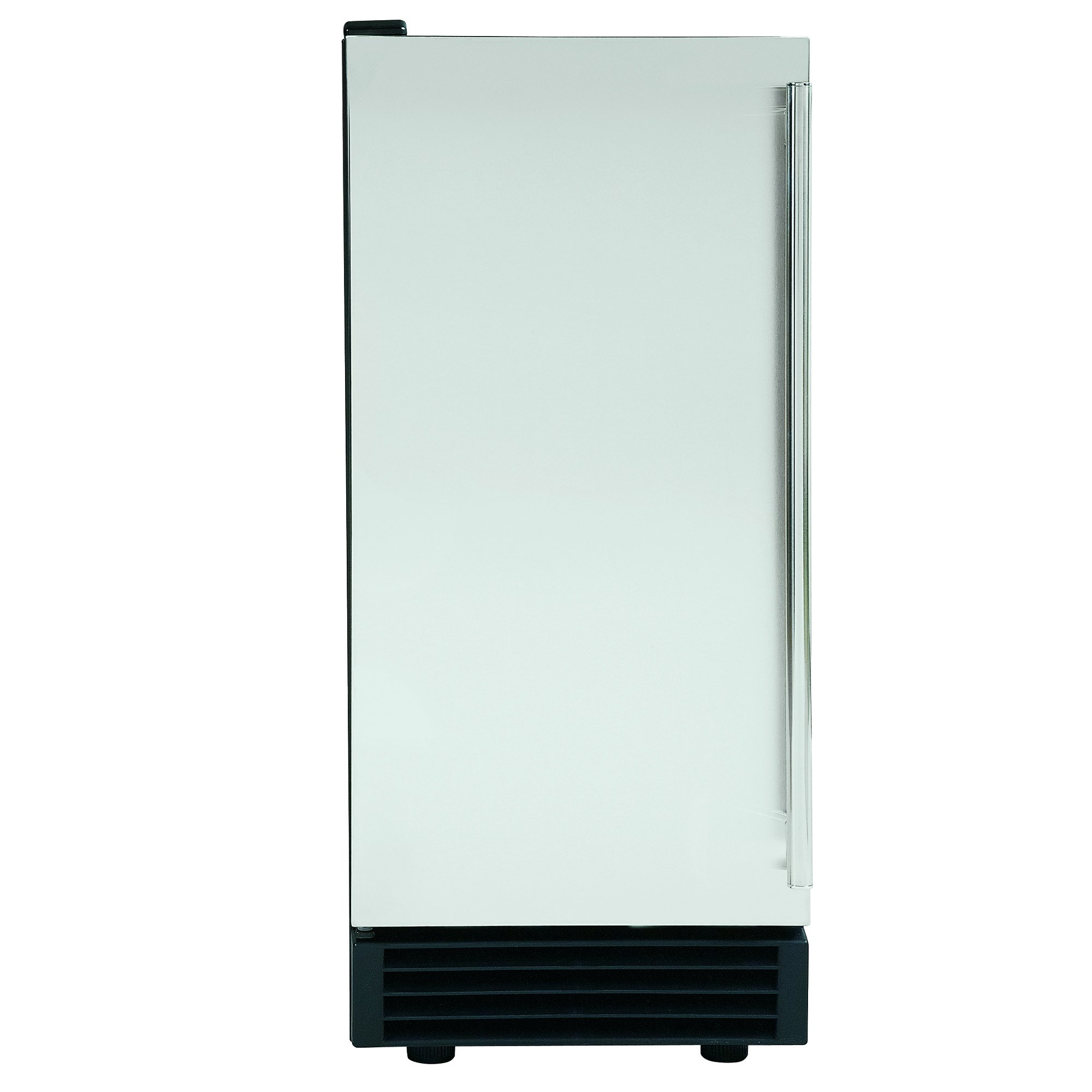 Maxx Ice MIM50X Built-In Undercounter Energy Star 50 Pound Stainless Steel Commercial Clear Ice Maker - REFURBISHED