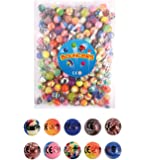 30 X Mixed Colour Jet Bouncy Balls