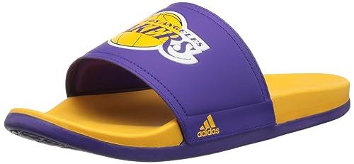 98d07d3b08a42 Adidas Performance Men s Adilette La Lakers Sandals