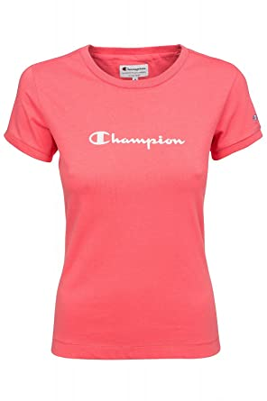 champion shirt damen pink