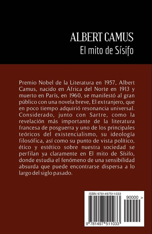 El mito de Sísifo (Spanish Edition): Albert Camus: 9781497511033:  Amazon.com: Books