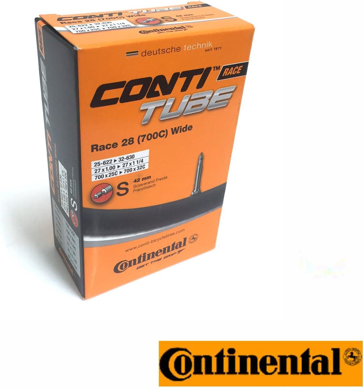 Continental 3 x Schlauch 700X18//25-622C Presta Ventil 42mm Sparpackung